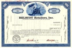 Belscot Retailers, Inc.(Became Albert Lechter, Inc)  - Delaware 1970