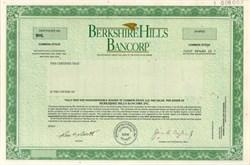Berkshire Hills Bancorp