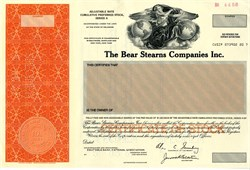 Bear Stearns Companies Inc. ( Ace Greenberg as Chairman) -  Delaware 1990