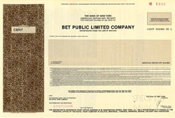 BET Public Limited Company - England 1987