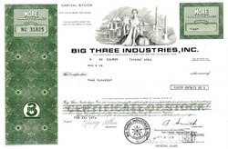 Big Three Industries, Inc.