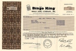 Bingo King Company - Colorado 1981