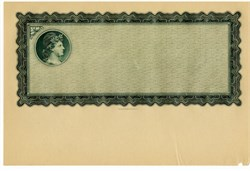 E.A. Wright Banknote Certificate