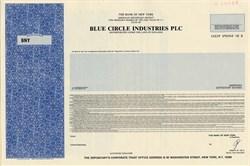 Blue Circle Industries PLC - England