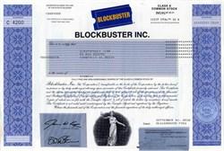 Blockbuster Inc. - Pre Bankruptcy - Pre Netflix