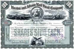 Boston and Albany Rail Road Company -