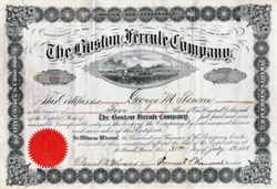 Boston Ferrule Company - Maine 1888
