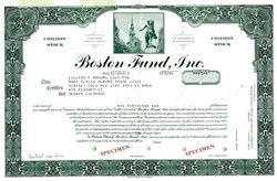 Boston Fund, Inc. - Massachusetts