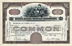Boston Herald Traveler Corporation - Massachusetts 1955