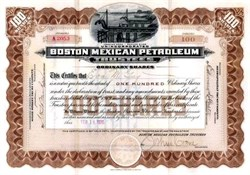 Boston Mexican Petroleum - 1920