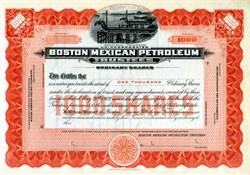 Boston Mexican Petroleum - Massachusetts - 1920