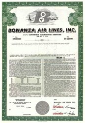 Bonanza Air Lines, Inc.- Las Vegas, Nevada 1964