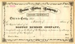 Boston Rubber Company - Massachusetts 1890's