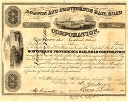 Boston and Providence Railroad  - 1860's