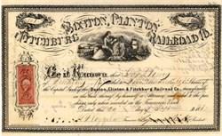 Boston, Clinton and Fitchburg Railroad Company 1867