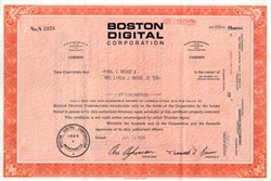 Boston Digital Corporation