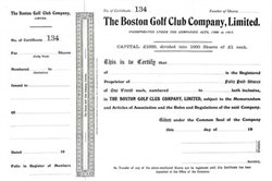 Boston Golf Club Company, Limited