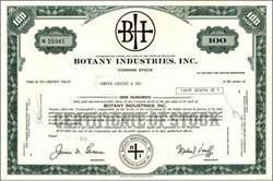 Botany Industries, Inc. ( Botany 500 Clothing )