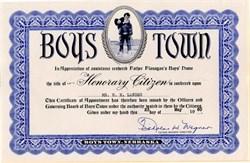 Boy's Town - Nebraska 1960