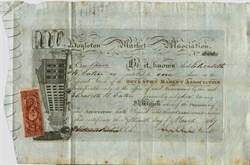 Boylston Market Association - Boston, Massachusetts 1867