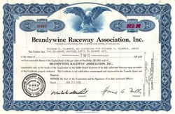 Brandywine Raceway Association, Inc. ( NASCAR Dover Downs )