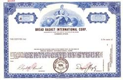 Bread Basket International Corp.