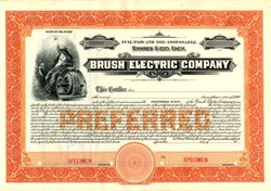 Brush Electric Company - Delaware 1912