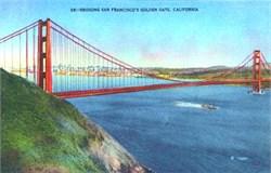 Bridging San Francisco's Golden Gate, California