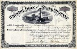 Bristol Iron and Steel Company - Virginia, 1891