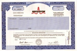 Broadcom, Inc (Henry T. Nicholas III as President)