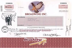 Broadwing Inc. ( formerly Cincinnati Bell ) - Name changed back to Cincinnati Bell on May 27, 2003