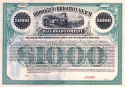 Brooklyn and Brighton Beach Railroad Company 1895