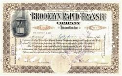 Brooklyn Rapid Transit Company 1914 - New York