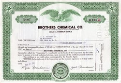 Brothers Chemical Company
