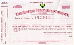 British Petroleum Company ( BP ) Rare Specimen - Pre Gulf Oil Spill - 1954