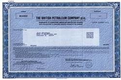 British Petroleum Company p.l.c. - 1987