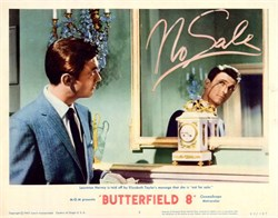 Butterfield 8 Lobby Card Starring Elizabeth Taylor and Laurence Harvey - 1960