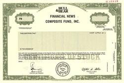 Bull & Bear Financial News Composite Fund, Inc. - Maryland 1989