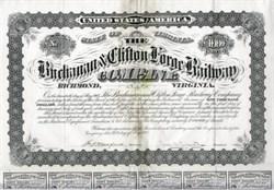 Buchanan & Clifton Forge Railway Company - Virginia 1877