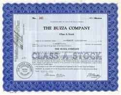 Buzza Company - 1933