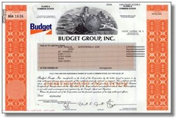 Budget Group, Inc -Budget Rental Car -  (Pre Cendent, Pre Avis, Post Bankruptcy) - 2002