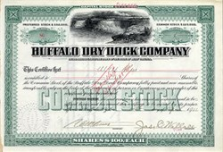Buffalo Dry Dock Company - Buffalo, New York 1911