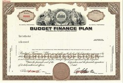 Budget Finance Plan - California  ( Became Safeco Insurance Corporation )