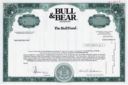 Bull Fund by Bull & Bear Inc. - Maryland 1977