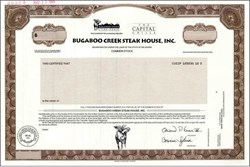 Bugaboo Creek Steak House, Inc.