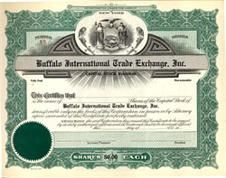 Buffalo International Trade Exchange  - New York
