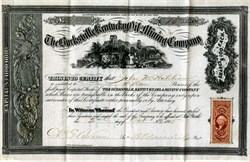 Burksville Kentucky Oil and Mining Company - New York 1865