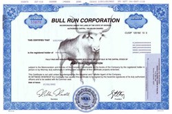 Bull Run Corporation - Bull Underprint