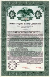Buffalo Niagara Electric Corporation - New York 1937