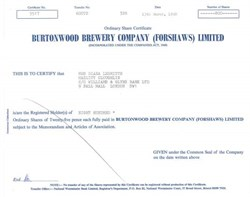 Burtonwood Brewery Company - 1980 - UK